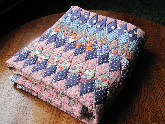 vintage quilt....OMGoodness! Nothing like a vintage ...hand made quilt. It warms the soul as well as the body!