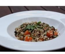 "Brown Rice, Quinoa, & Pumpkin Salad ""Solar Springs"""