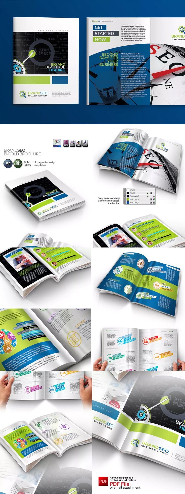 Best Brochure Templates Images On