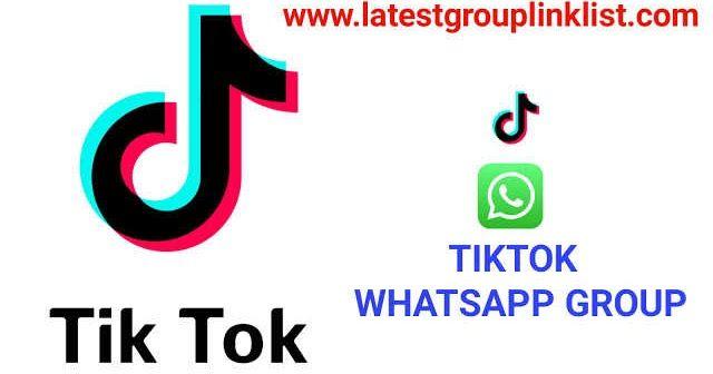 Join 3000 Tiktok Latest Whatsapp Group Link List 2020 Whatsapp Group Linked List Group
