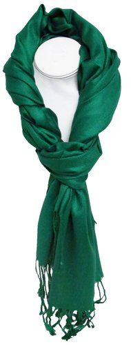 Solid Color Pashmina Scarf