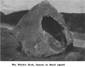 "The Witch's Rock | Maori legend behind Reihana's rendition of the bird woman, ""Kurangaituku"" | nzetc.victoria.ac.nz"