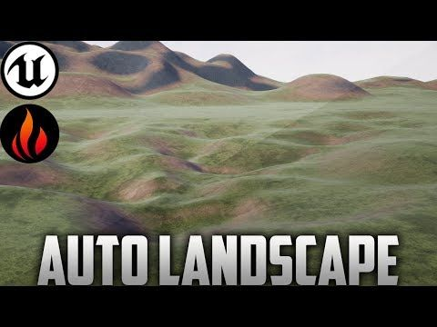 30) Unreal Engine 4 - Landscape Auto Material - YouTube