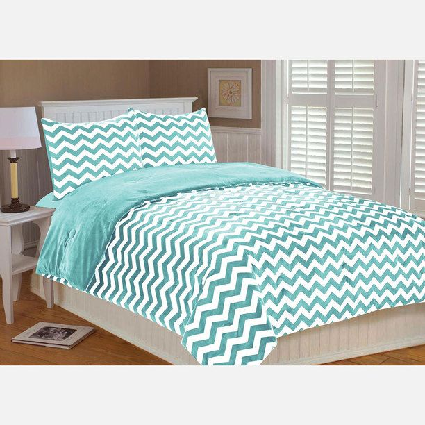 bedding set fullqueen blue