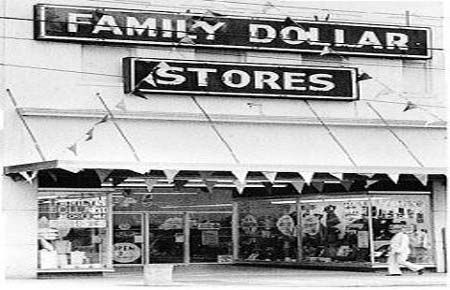 """Family Dollar Stores - """"Family Dollar Stores, Inc., is a chain of discount stores that offer inexpensive merchandise for family and home needs to customers in 43 states located in mainly in the northeastern, southeastern, southwestern, and northwestern regions of the United States. The first Family Dollar store was opened in Charlotte, North Carolina, in 1959. Since that time, the company has grown to more than 5,000 units with $4.75 billion in annual sales."""""""
