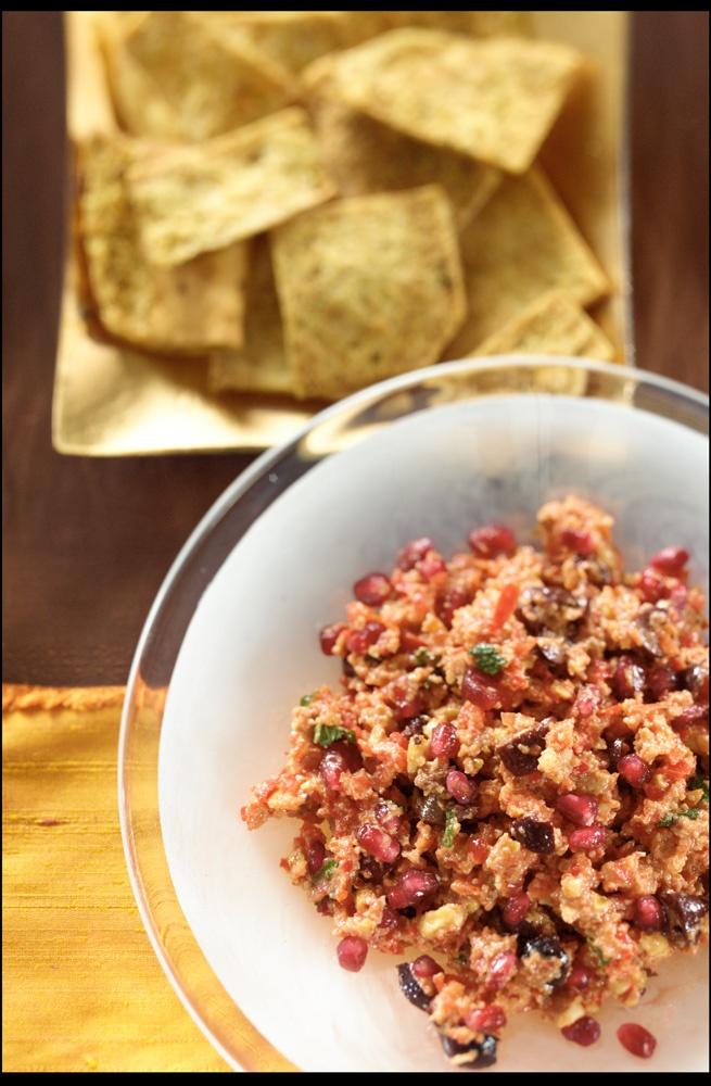Mahammar (Pepper, Pomegranate and Walnut Dip) | Recipe