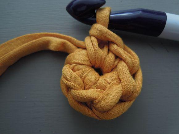 Anneau magique crochet