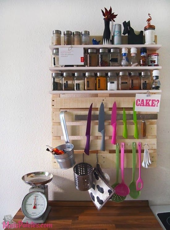 decoracao cozinha diy:Paletes de Madeira na decoração da cozinha #pallets #