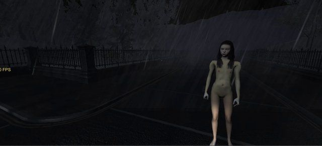 "The Girl in the rain. A test film of the first time I got ""the thin girl"" into my game. Due to un-optimised and heavy scene, plus Quicktime ..."