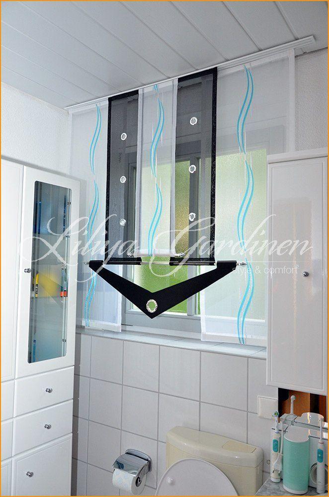 Badgardinen In 2020 Bathroom Curtains Curtains Modern Window