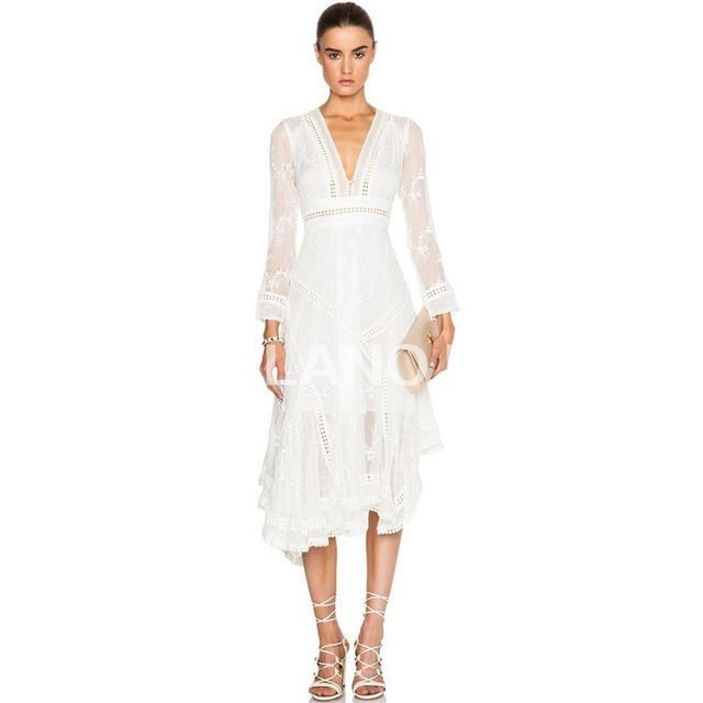 2016 spring new runway women elegant white dress M121603 US $106.21 /piece To Buy Or See Another Product Click On This Link  http://goo.gl/IdJFhm