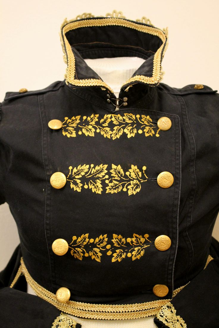 regency spencer with gold painted decoration