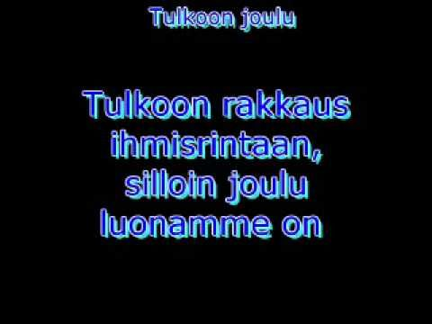 Tulkoon joulu (Sanat) - YouTube