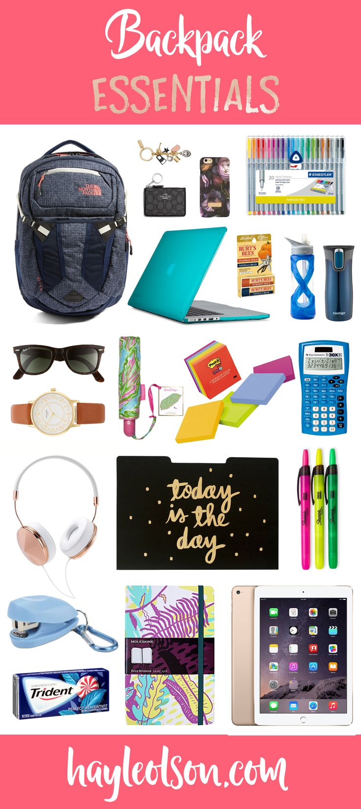 25  best ideas about Backpack essentials on Pinterest | School ...