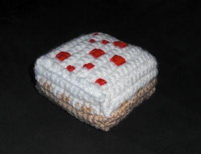 draadje's blog: Free Pattern: Minecraft Cake