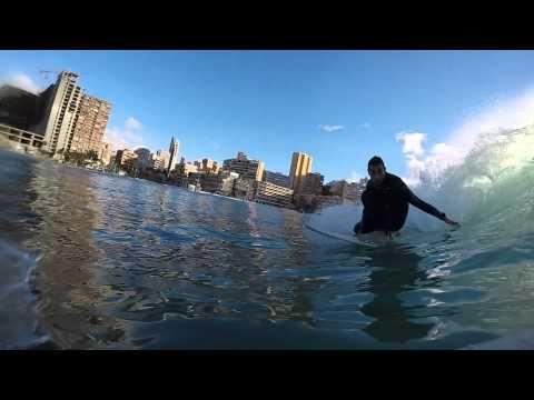 Surf en la Cala de Finestrat