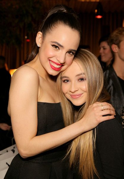 Sabrina Carpenter and Sofia Carson Photos - NYLON Young Hollywood Party, Presented By BCBGeneration - Zimbio @AGjojokoko9