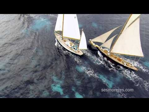 Espectaculares imágenes XI Regata Vela Clásica PANERAI 2014 | Ocio en Menorca