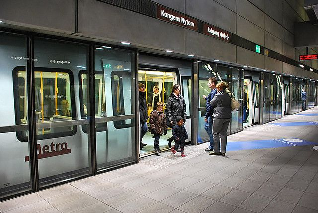 Chic Copenhagen Metro- Kongens Nytorv Station