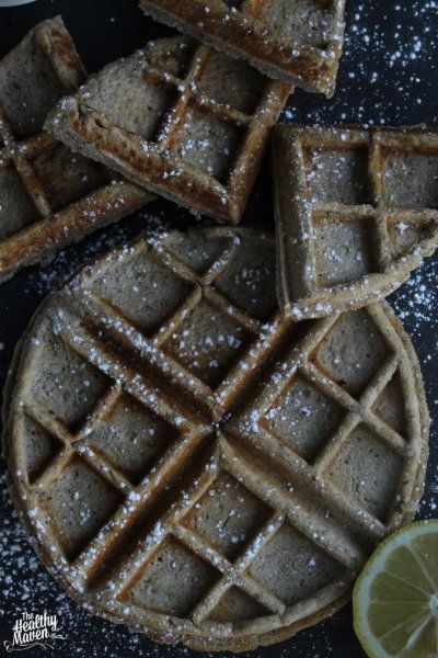 A tangy but sweet waffle recipe that is both vegan and gluten-free!