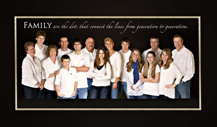Large Family Portrait Poses Ideas | Large Family Portrait Photographer Madison WI