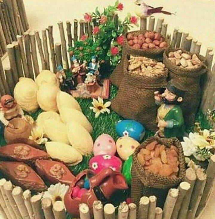 Holiday Decorating Novruz Bayram Novruz Xoncasi Diy Holiday Decor Holiday Decor Holiday Diy