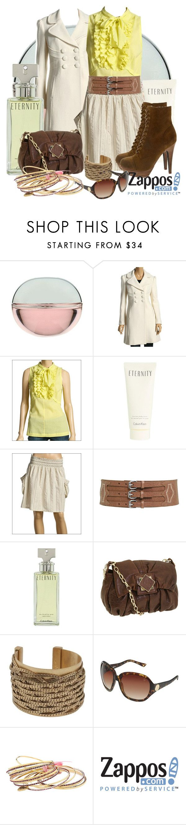 """Only Zappos"" by tamara-p ❤ liked on Polyvore featuring DKNY, Juicy Couture, Robert Rodriguez, Calvin Klein, O'Neill, Jessica Simpson, Steve Madden, Gustto, Rocawear and Betsey Johnson"