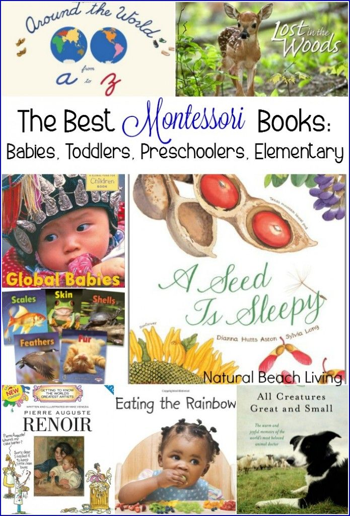 the best montessori books babies toddlers preschoolers elementary - Free Toddler Books