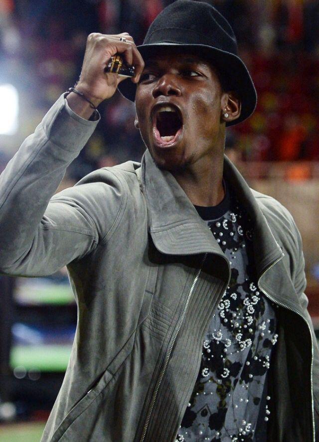 Paul Pogba Monaco Juventus Champions League