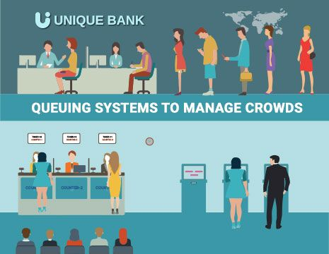 Mobile Queuing systems to manage crowd and queues at your service areas.