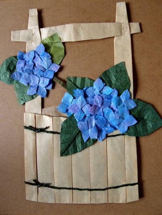 折紙 ■梅雨です■6/16 天気予報を見ると雨・曇りが続く。花を見に行ける状態になったもののこれでは出かけられません。高知の雨の降り方は尋常じゃないことが多いので諦めて家でごとごと用事をしていました。              折紙教室に習いに行く前に本を見て材料を買い集め折った...