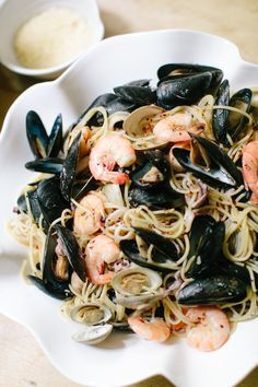 Pasta frutti di mare | A romantic recipe for date night in.