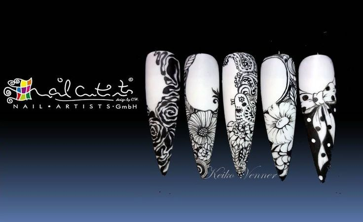 Orgasmic freehand painting #nail art