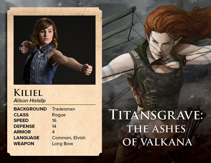 Meet Kiliel from TITANSGRAVE Played By Alison Haislip | Geek and Sundry