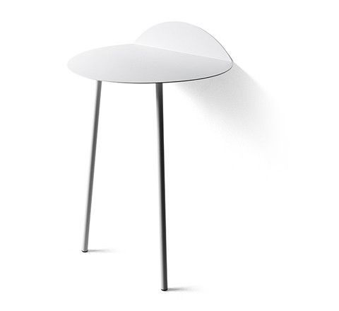 white yeh wall table / two sizes