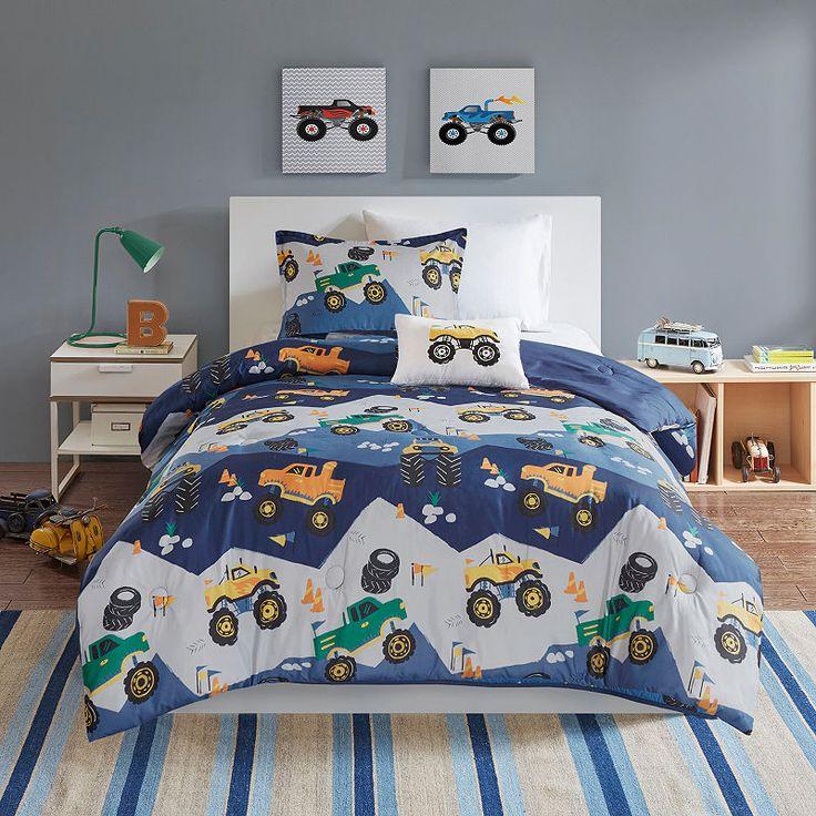 Mi Zone Kids Gavin Printed Comforter Set Comforter Sets Boys