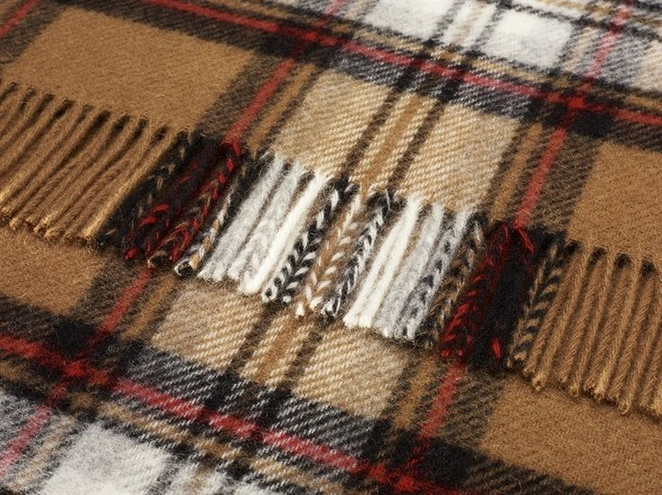 Pure Wool Camel Stewart Tartan Throw Cms   Wool Tartan Throws Cms   Shop By  Size Sofa Throws