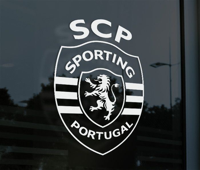 Sporting Clube Portugal - Decal Sticker Show your support everywhere you go. Decorate your car or window with this Vinyl Decal Sticker! Made from High Quality, High durability Oracal Vinyl. Supplied w