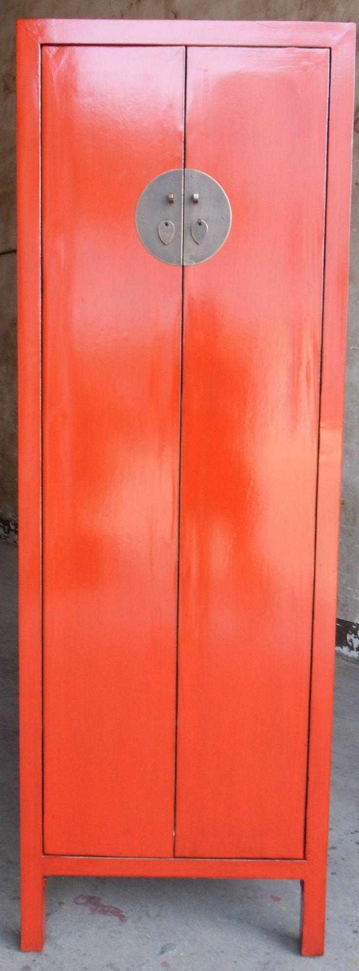 RED WEDDING CABINET: 2 DOORS