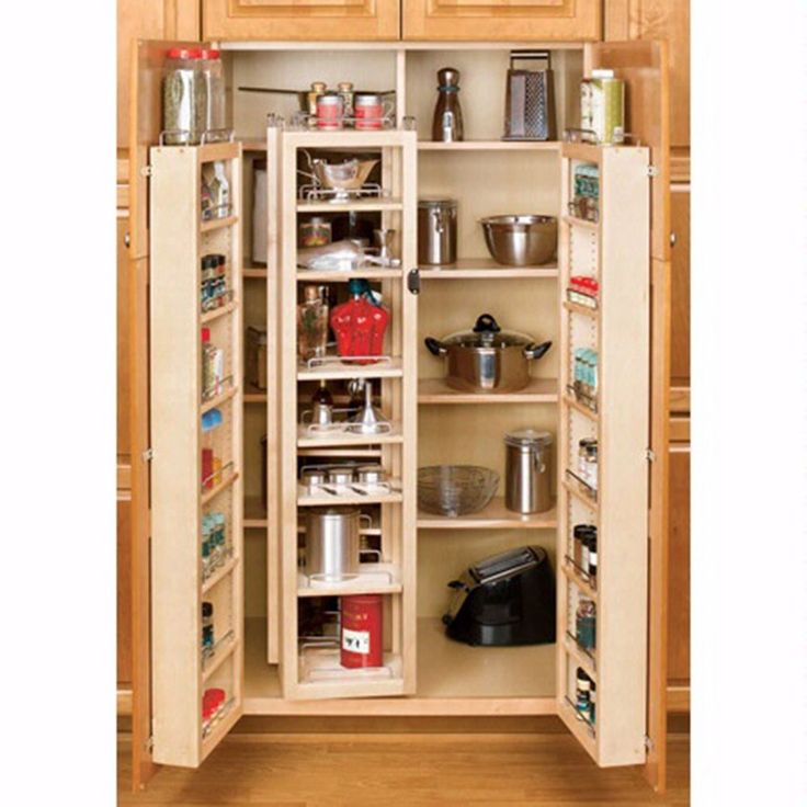 Swing Out Complete Pantry System, RevaShelf 4W Series