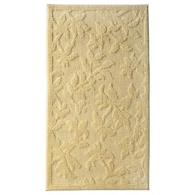 Perfect Yellow Bath Rugs  Target