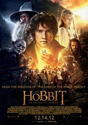 The Hobbit: An Unexpected Journey (2012) movie #poster, #tshirt, #mousepad, #movieposters2
