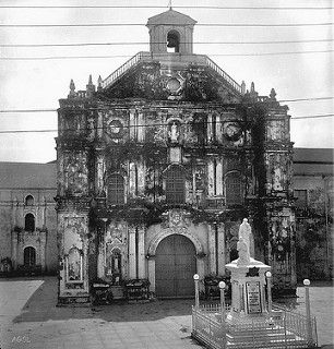 San Francisco Church, Church of St. Francis, Church of Our Lady of Angels, Intramuros, Manila, Philippines, July 31, 1935 | by J. Tewell