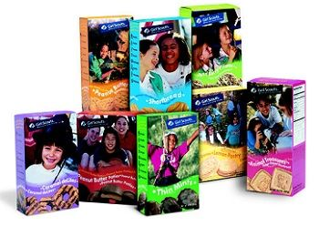 Girl Scout cookies!  LOVE them!