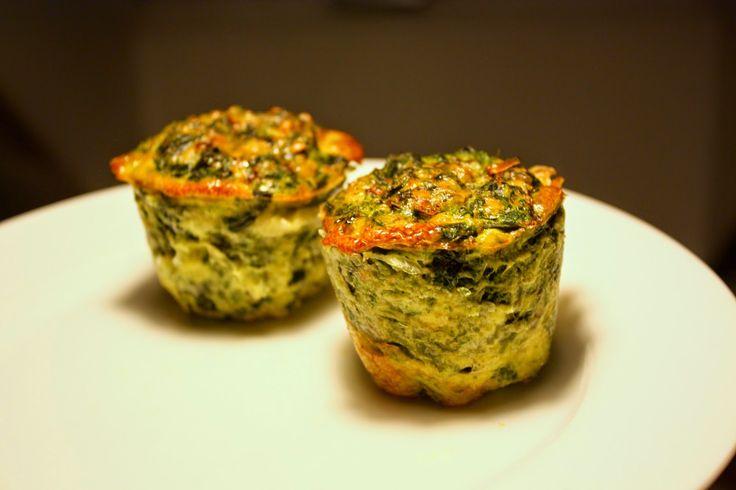 Madlaboratoriet: Spinat-æggemuffins med ost
