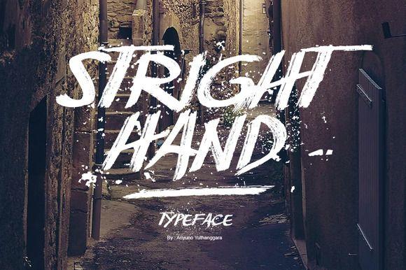 Stright Hand by Ariyuno on @creativemarket