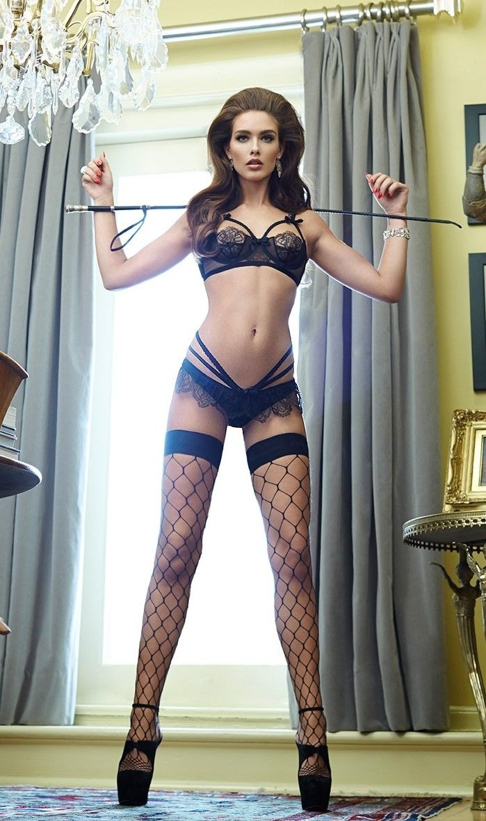 dekkers lingerie, a riding crop and I will drop on my knees . . .