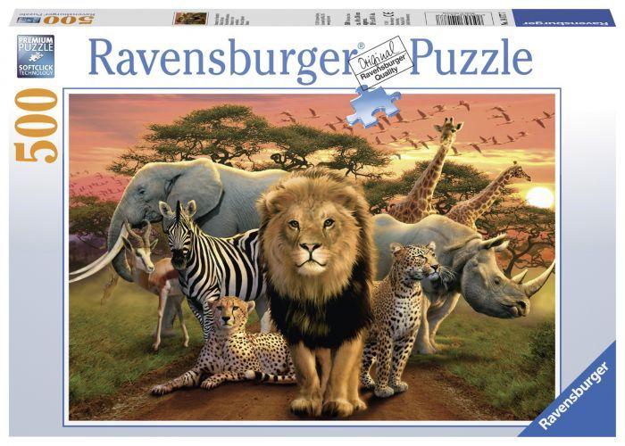 Ravensburger Puzzle 500pc - African Splendour