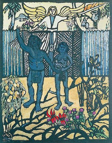 Margaret Preston - The Expulsion