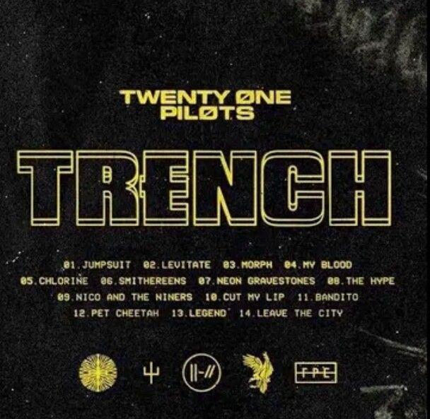 Fall Out Boy Logo Wallpaper Twenty 216 Ne Pil 216 Ts New Album Quot Trench Quot Tracklist